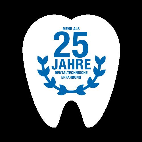 Über 25 Jahre dentaltechnische Erfahrung.